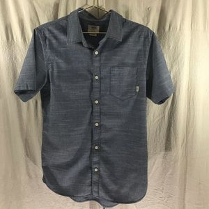 Vans Short Sleeve Button  Down Casual Shirt